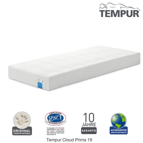db2659ad47451a Tempur Cloud Prima 19 Matratze