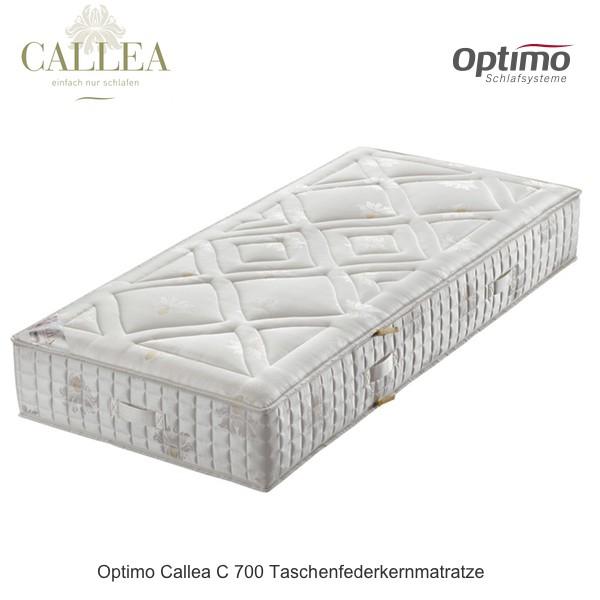 Optimo Callea C 700 Taschenfederkernmatratze