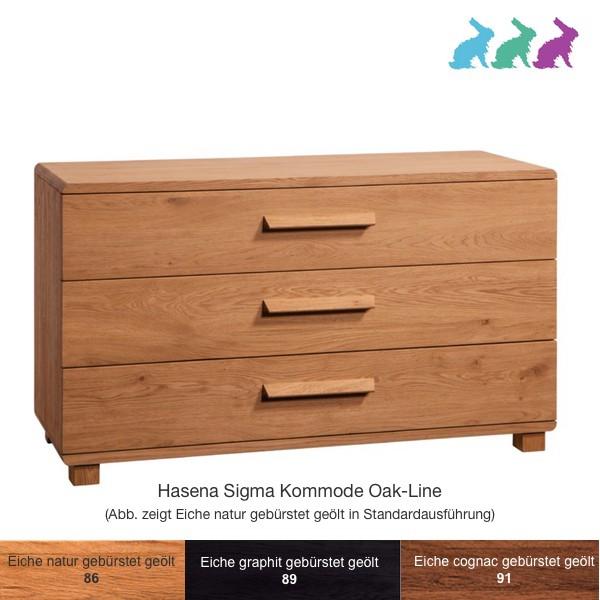 Hasena Sigma Kommode Oak-Line