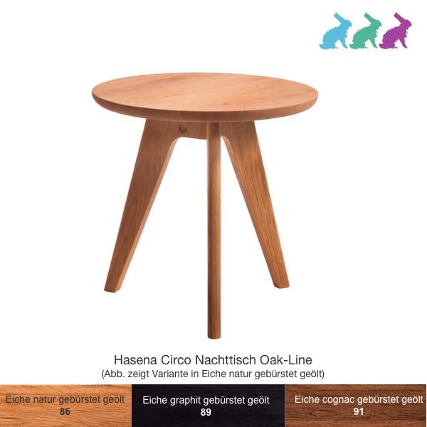 Hasena Circo Nachttisch Oak-Line