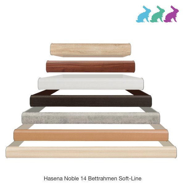 Hasena Soft-Line Noble 14 Serie Bettrahmen