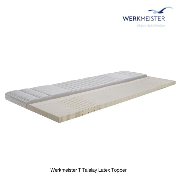Werkmeister T Talalay Latex Topper