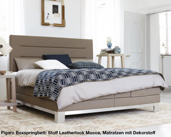 Schlaraffia Figaro Boxspringbett - optional mit GELTEX® Inside ...