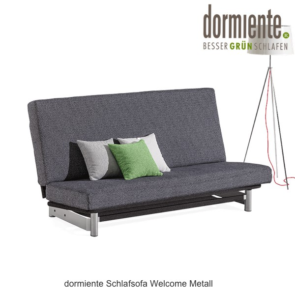 dormiente Schlafsofa Welcome Metall
