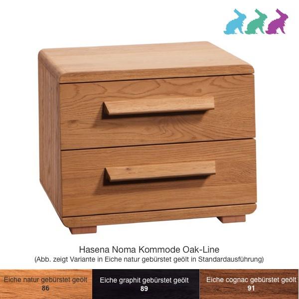 Hasena Noma Nachttisch Oak-Line