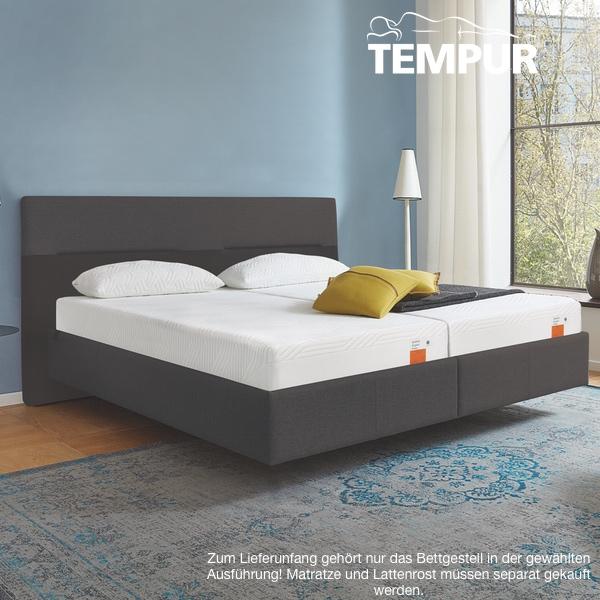 39a6e2b8546f9d ... Vorschau  Tempur Relax Texture Bett ...