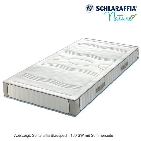 Schlaraffia Blauspecht 160 SW Naturlatexmatratze 90x200cm H2 Aktionspreis